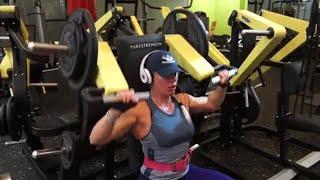 Тренировка плеч от Елены Кирщиной