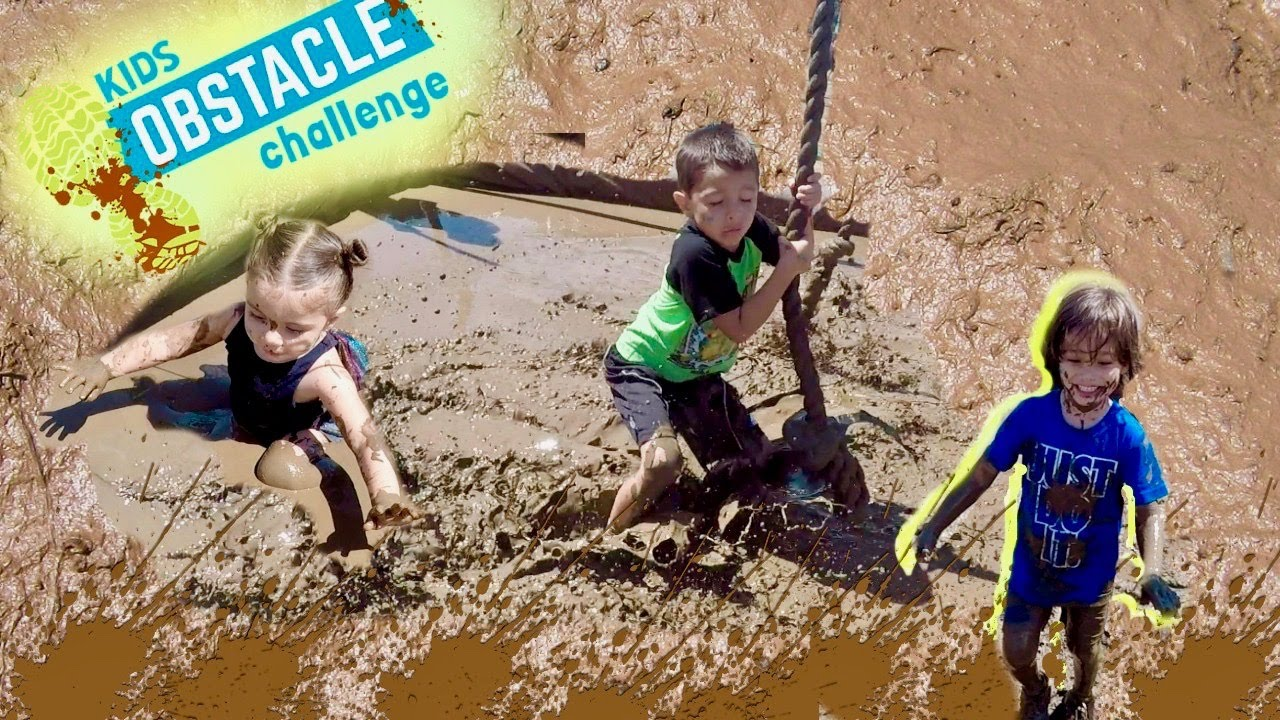 c07de18330 KIDS OBSTACLE CHALLENGE 2017 | KIDS AND TODDLERS EXTREME MUD RACE ...