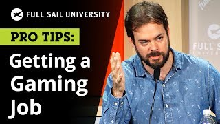 Getting a Job in the Gaming Industry: Tips from the Pros | Full Sail University