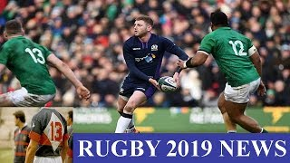 Rugby Oma: Gregor Townsend frustrated that Finn Russell played on Sunday for Racing 92