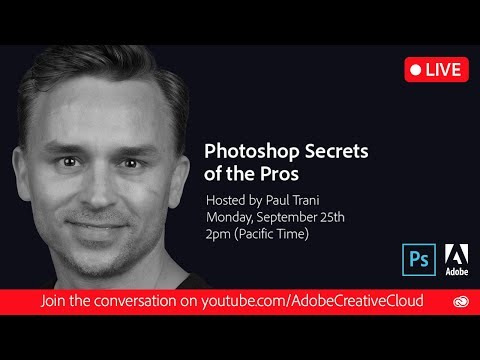 Photoshop Secrets from the Pros with Paul Trani