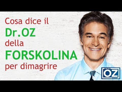 Forskolina Coleus Forskohlii: Integratore per dimagrire Dr. Oz