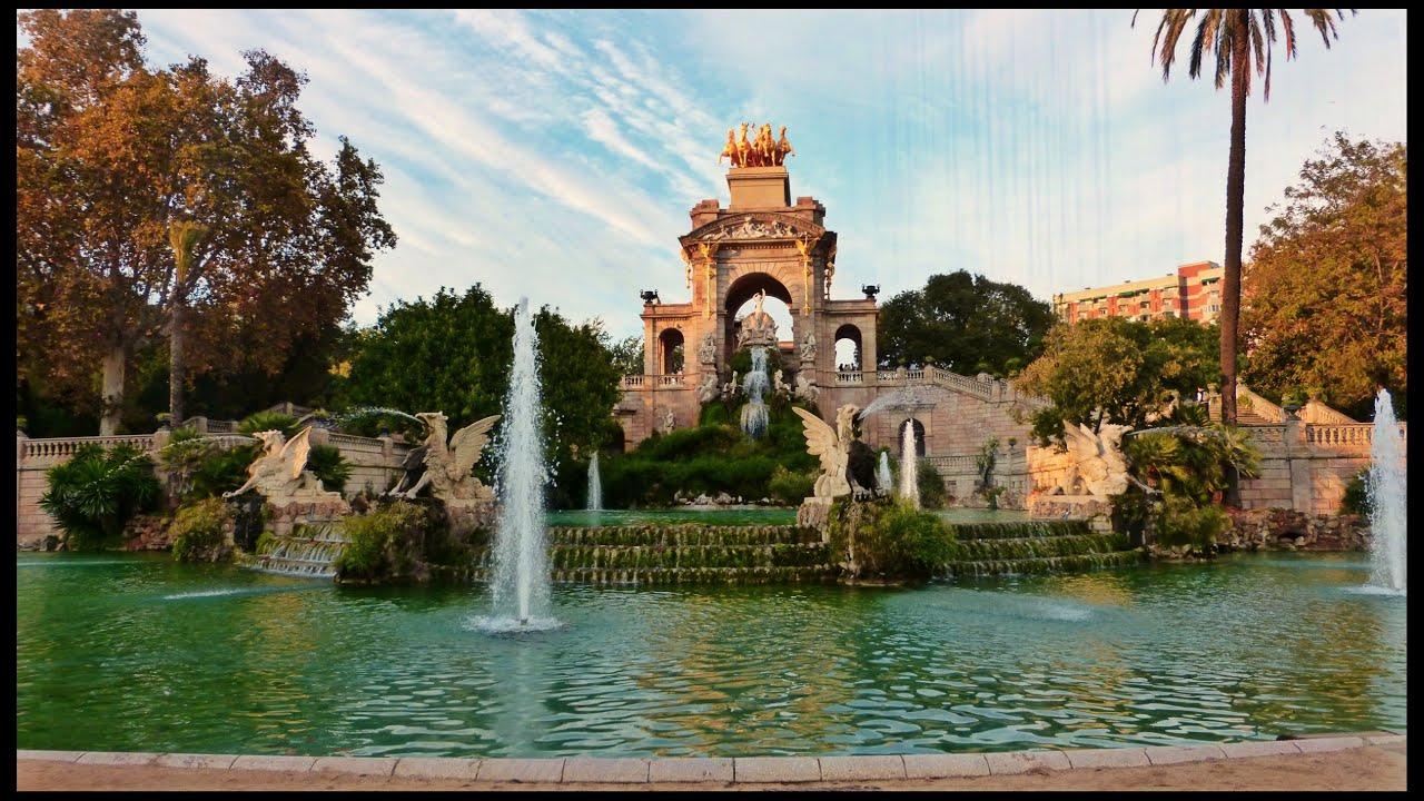 Parque de la ciutadella el m s famoso 1 parques for Parques de barcelona