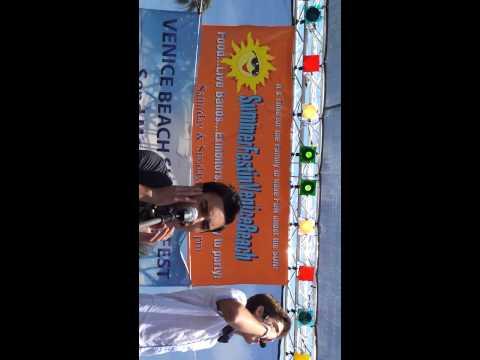IM5 Runaway Bruno Mars Cover Venice Beach