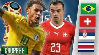 WM Check: Brasilien hofft auf Neymar! |Gruppe E