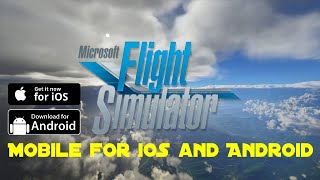 Microsoft Flight Simulator Mobile - Microsoft Flight Simulator Android - Flight Simulator APK