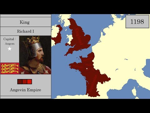 The History Of England : Every Year