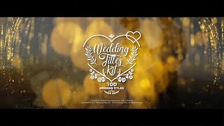 Hochzeit-Titel-Kit ( After Effects Template ) ★ AE-Vorlagen
