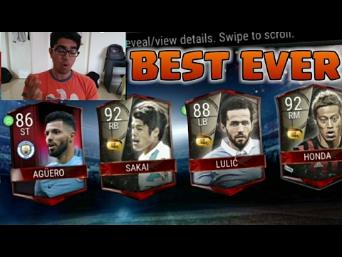FIFA MOBILE GOLDEN WEEK PACKS ARE THE BEST!! Golden Week Pack Opening + Plans on FIFA Mobile 17