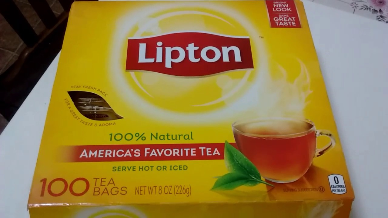Black Tea Lipton 100 Bags