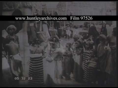 Hausa People Of Nigeria, 1960s - Film 97526