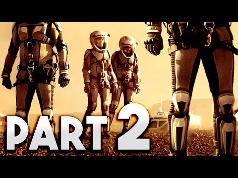 Surviving Mars - HUMANS ARRIVE ON MARS!! - Colonizing the Red Planet - Surviving Mars Gameplay #2