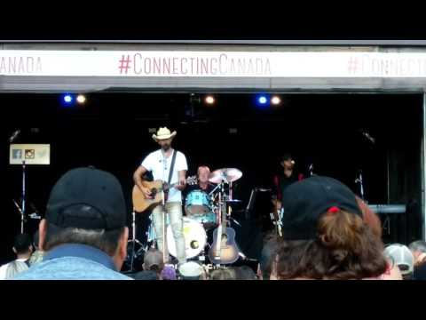 Brothers - Dean Brody @ CP Canada 150 Train celebrations, Port Moody, BC, Canada