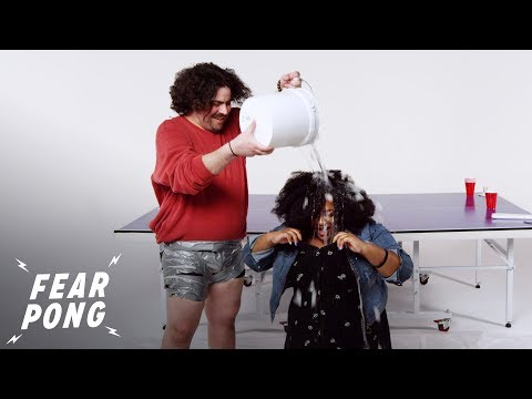 Exes Play Fear Pong (Turquoise vs. Sam) | Fear Pong | Cut