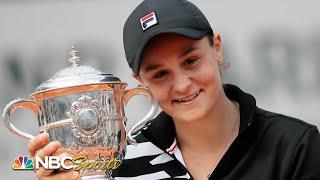 2019 French Open: Ashleigh Barty vs. Marketa Vondrousova | EXTENDED HIGHLIGHTS | NBC Sports