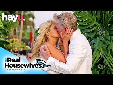 Camille Grammer Meyer Gets Married!   Season 9   Real Housewives Of Beverly Hills