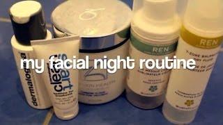 My facial night routine Thumbnail