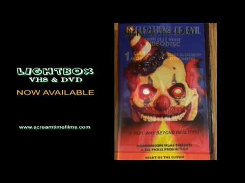 LED Horror DVD & VHS LightBox - Screamtime Films Now Available for Halloween 2016