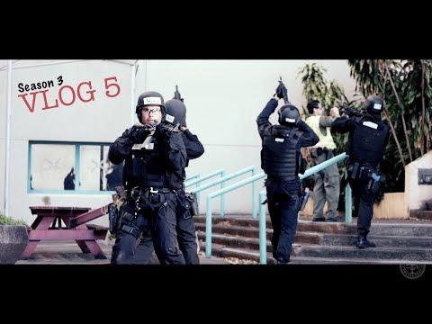 Miami Police VLOG: SWAT SCHOOL 2018... Scenario Day.