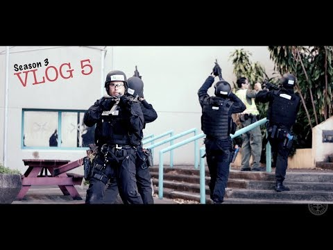 Miami Police VLOG: SWAT SCHOOL 2018... Scenario Day.