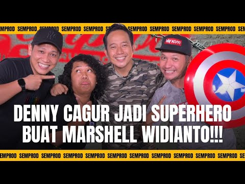 SEMPROD : DIANGGAP SOSOK SUPERHERO, DENNY CAGUR JADI PANUTAN MARSHEL WIDIANTO!!!