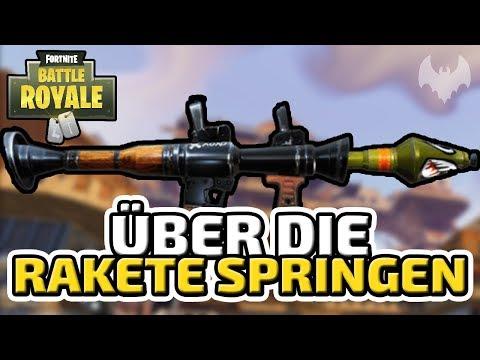 Über die Rakete springen - ♠ Fortnite Battle Royale ♠ - Deutsch German - Dhalucard