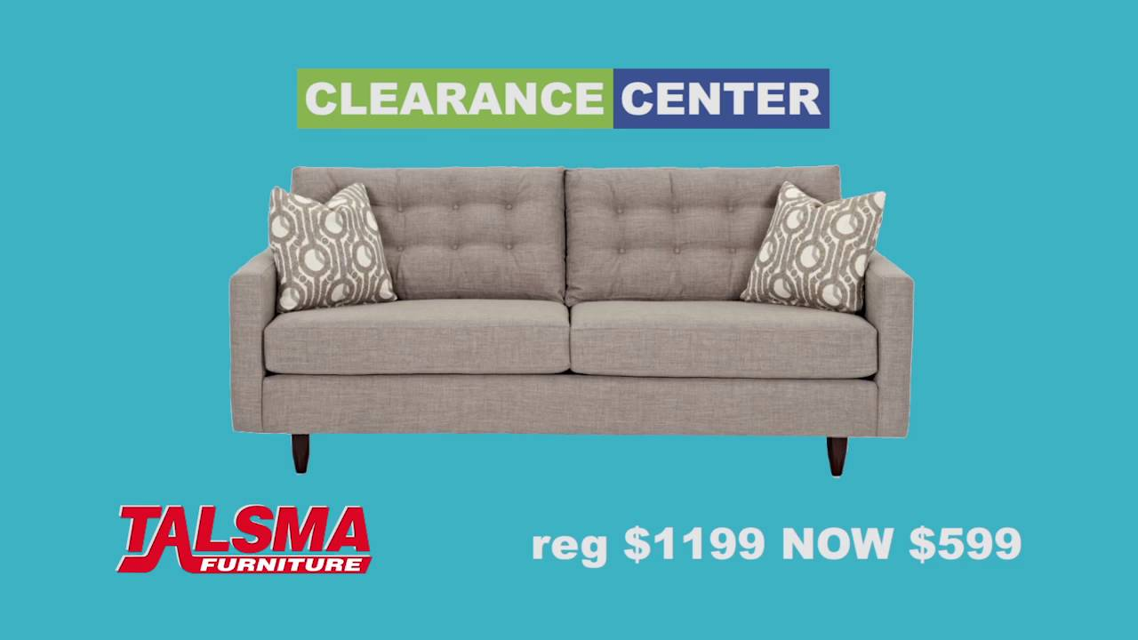 The Clearance Center At Talsma Furniture Youtube