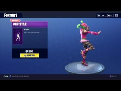 NEW DANCE POP STAR FORTNITE
