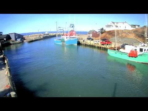 Bay Of Fundy Spring Tide Timelapse, Hall's Harbour