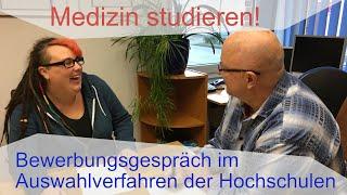 Medizin studieren - Bewerbungsgespräch im Auswahlverfahren 💡 Nicht verzagen, Peter fragen!