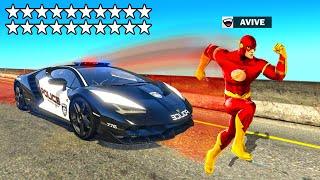GTA 5 als FLASH spielen... (Superhelden Modus)