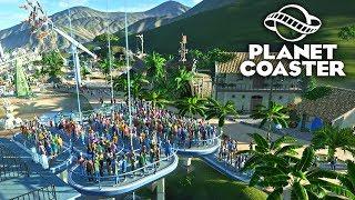 Planet Coaster - ОчередЬное украшение 😁 #7