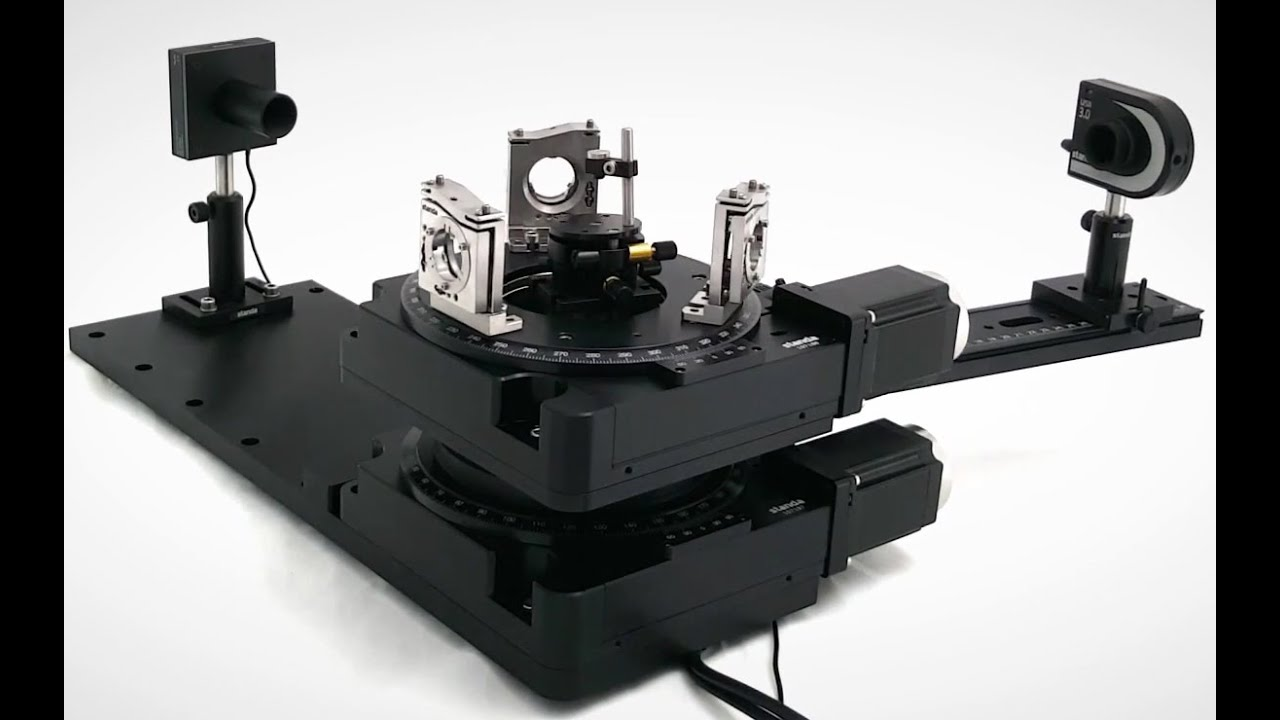 Large Motorized Rotation Stage - Motorized Positioners & Controllers
