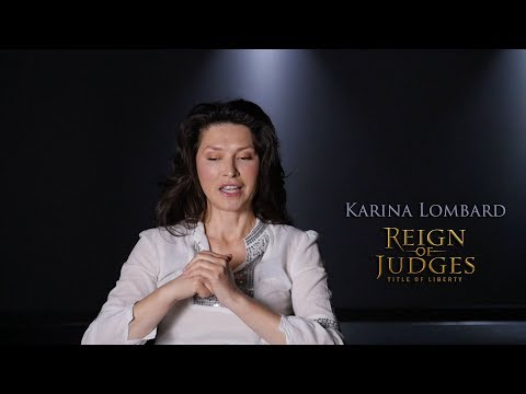 Karina Lombard  On Reign of Judges: Title of Liberty