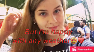 Weather. English lesson. Урок английского для всех.