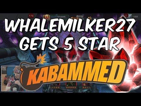 Whalemilker27 Gets 5 Star Kabammed - 5 Star Crystal Opening - Marvel Contest Of Champions