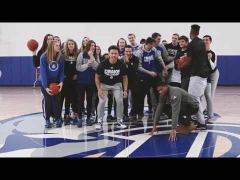 Drake Bulldog Basketball - Physically All In