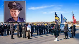 10-Year-Old Honorary Police Officer Given Full Honors at His Funeral