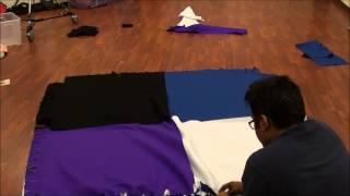 Huge No Sew Fleece Blanket