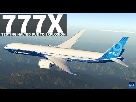 Boeing 777X Door Explosion Stops Testing