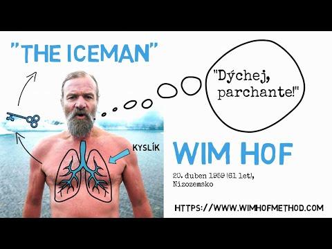 LEDOVÝ MUŽ WIM HOF/metoda otužování a správného dýchání/ CO TĚ NEZABIJE/Animated Book Summary/CZ