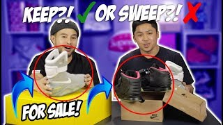 KEEP OR SWEEP ON $20,000 SNEAKER & CLOTHING COLLECTION!