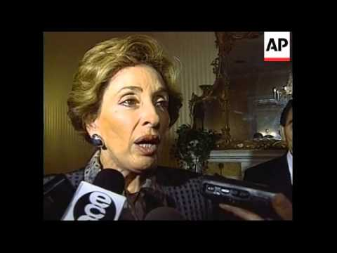 USA: MEXICAN FOREIGN MINISTER GREEN TALKS ON DRUGS TRADE