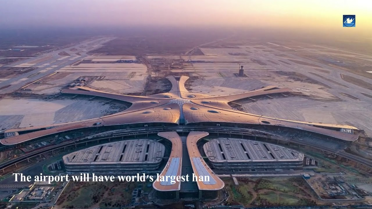 Download Beijing Daxing Airport: Take a look inside the new Beijing mega airport.