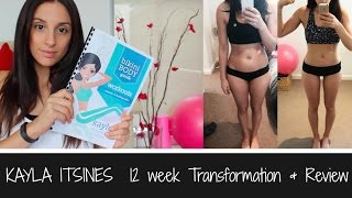 One of Erin Henry's most viewed videos: KAYLA ITSINES | REVIEW | TRANSFORMATION | FUTURE PLANS