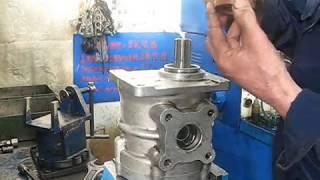 Сборка гидронасоса НШ-100  круглого (нового образца)