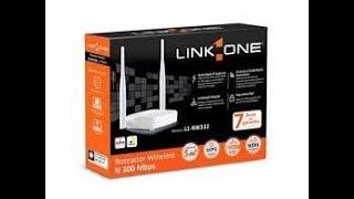 configurar login e senha link one L1 RW332
