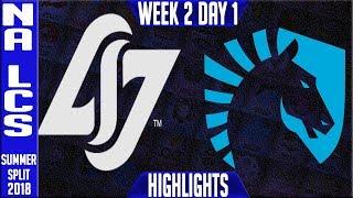 Video CLG vs TL HIGHLIGHTS | NA LCS Summer 2018 Week 2 Day 1 | CLG vs Team Liquid Highlights download MP3, 3GP, MP4, WEBM, AVI, FLV Juni 2018