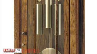 Howard Miller | Greene Grandfather Clock Heritage Oak 610-80