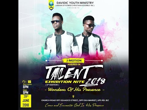 J-Motion Live @Talent Exhibition Nite 2018 (I don't want this to End & Congratulations by UR Flames)